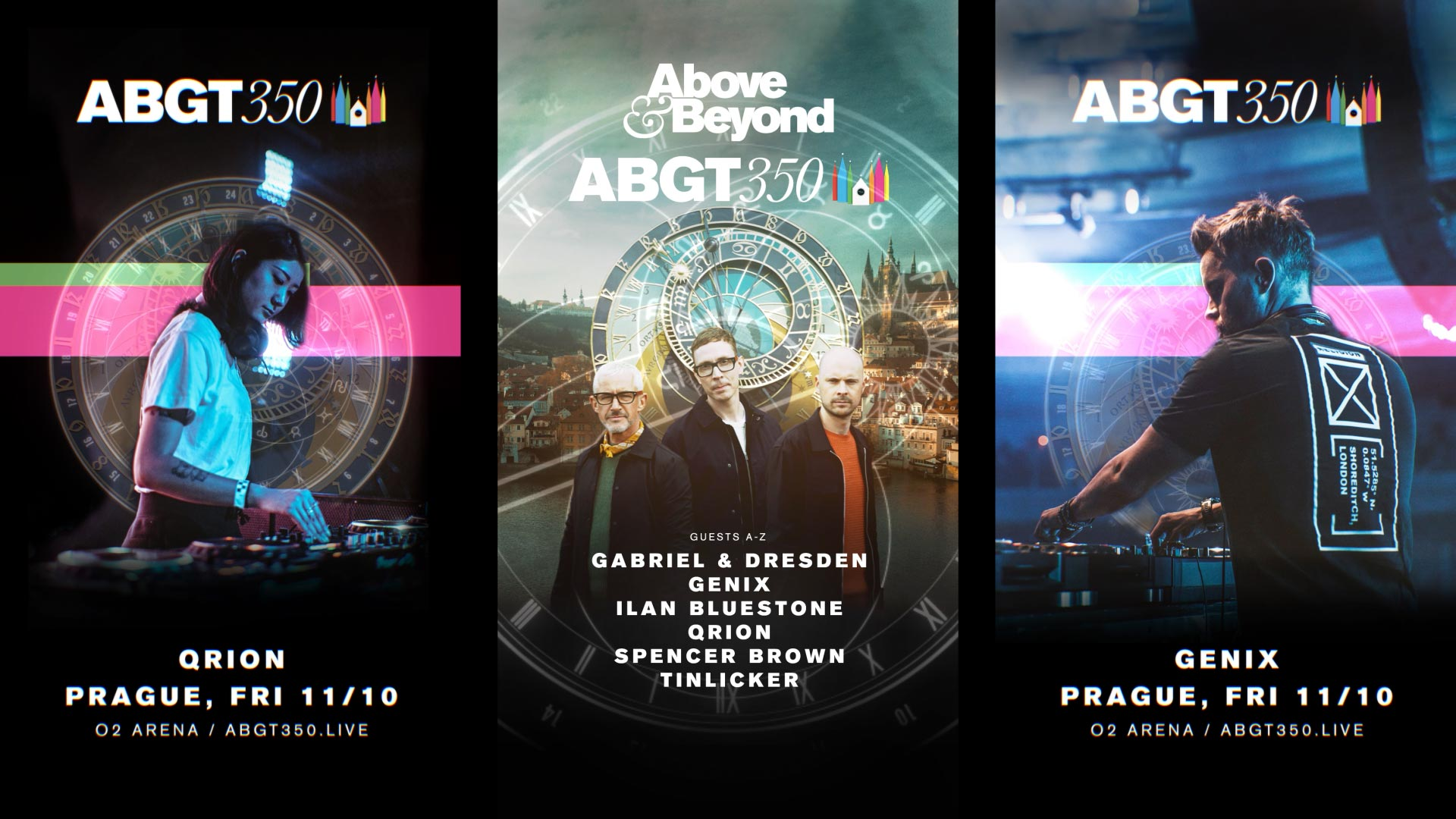 ABGT350 Event Visuals